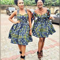 Ankara Short Gown Styles for Stylish Ladies. Ankara Short Gown Styles for Stylish Ladies Ankara Short Gown Styles, Trendy Ankara Styles, Short Gowns, Dress Styles, African Attire, African Wear, African Dress, African Clothes, African Style