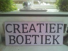 CreatiefBoetiek. .voor leuke gezellige workshops! Ook voor verjaardagsfeest!