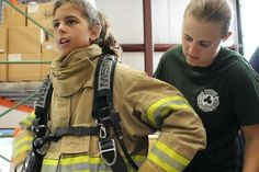 @isabellegeneva There's a Special Camp Where Girls Train to Be Firefighters