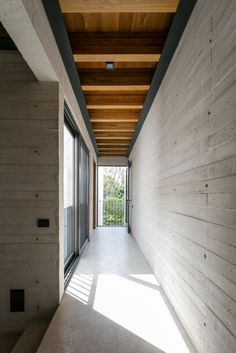 Image 3 of 26 from gallery of Acolhúas House / SPRB arquitectos. Photograph by Lorena Darquea Concrete Architecture, Modern Architecture Design, Residential Architecture, Interior Architecture, Futuristic Architecture, Architecture Facts, Modern Design, Scandinavian Architecture, Concrete Interiors