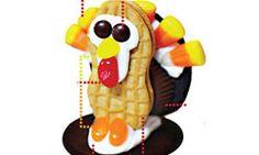 Thanksgiving kids cookie