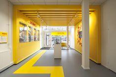DHL store by Tchai International, Amsterdam – Netherlands » Retail Design Blog