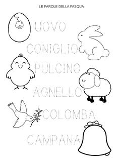 Canti, Italian Language, Easter, Learning, Words, Spring, Emerald, Nursery School