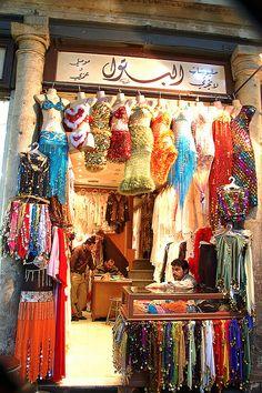   Inside Hammidiya Market, Damascus, Syria