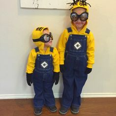 DIY Despicable Me 2 Halloween Costumes