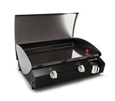 Plancha - BERO 2.0 de Barbecook - Nathalie Lavirotte Portable Barbecue, Grilling, Outdoor Decor, Planks, Portable Bbq Grill, Crickets