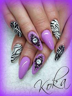 Popular Nail Fashion 2014-15 For Ladies