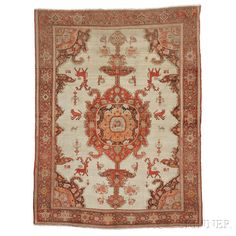"""""""Mission"""" Malayer Rug, Iran, late 19th century, 6 ft. 5 in. x 4 ft. 10 in.  