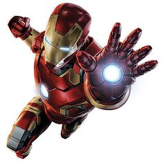 #Childrens ironman #personalised feature wall art #sticker vinyl kids bedroom, View more on the LINK: http://www.zeppy.io/product/gb/2/251486071218/