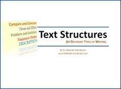 Text Structures, COVER
