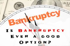 Personal bankruptcy is something people think they must do when they're over their heads in debt. Before filling your bankruptcy you should know about bankruptcy alternatives such as consolidate using debt consolidation loan, use the equity card, consolidate with a debt settlement and consumer proposal. If these four option do not solve your debt problem, you should reach out a debt consultation.