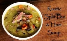 Diehl With It: Split Pea Soup With Ham- 21 Day Fix Approved