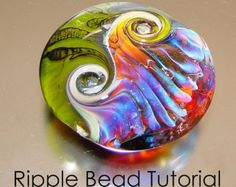 Ripple Bead Tutorial - Lampwork Bead Instructions