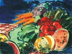 Kontuly Bla Csendlet kaktusszal s narancsokkal 1933 Magyar Painter, Pics, Painting, Art Boards, Art Nouveau, Art, My Arts