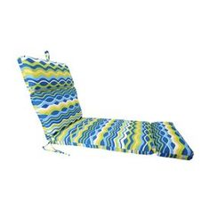Jordan Manufacturing Variations Poolside Texture Standard Patio Chair Cushion For Chaise Lounge