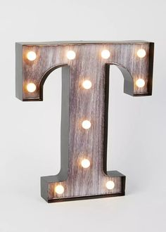 LED T Letter Light (33cm x 285cm) View 1