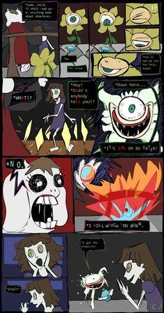 Horrortale Comic 17: A Personal Favor by Sour-Apple-Studios