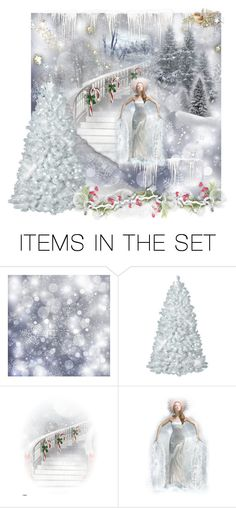 """Christmas Magic"" by bonnieemme ❤ liked on Polyvore featuring art"
