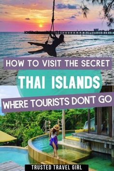The Ultimate Guide to the Undiscovered Islands of Southern Thailand. Discover the secret Thai islands tourists don't visit (yet!) A detailed Thailand island hopping guide to go off the beaten path in Thailand. #thailand #thaiislands 10 Days In Thailand, Visit Thailand, Thailand Travel Guide, Asia Travel, Backpacking Thailand, Backpacking Europe, Airline Travel, Mexico Travel, London Travel