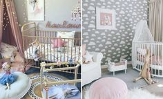 Congratulations on the news that you're expecting. It's time for the hard work to start. Here's 17 super cute nursery and playroom ideas to get you going!