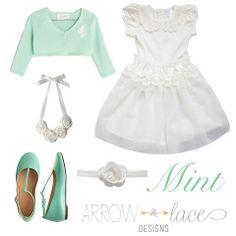 Mint! #arrowandlacelooks