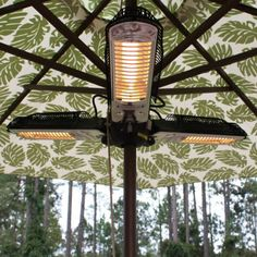 You can keep your guests warm and comfortable while dining outdoors when the temperature drops.