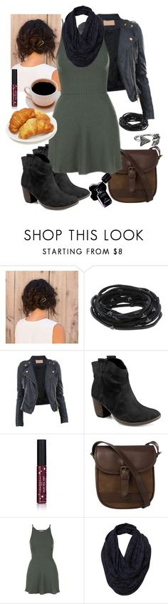 """""""Coffee Date"""" by werewolf-gurl ❤ liked on Polyvore featuring Tomasz Donocik, Madison Harding, DUBARRY, Topshop, House of Harlow 1960 and Chanel"""