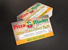 Business Card Design for Pizza Restaurant