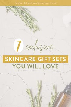 Gift sets aren't just for Christmas anymore! Whether you need a gift for that special someone, or just something to raise your spirits, these 7 exclusive skincare gift sets are just what the doctor ordered! Each one is jammed packed with your new favorite skincare product! #skincare #beautyadvice #giveyourselfagift