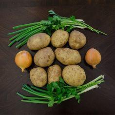 Rustic Potato Soup Ingredients