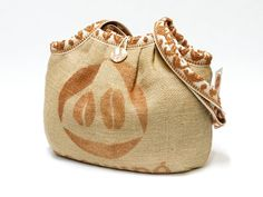 Check out our shoulder bags selection for the very best in unique or custom, handmade pieces from our shops. Coffee Sacks, Sack Bag, Retro Fabric, You Bag, Bucket Bag, Burlap, Baby Shoes, Recycling, Reusable Tote Bags