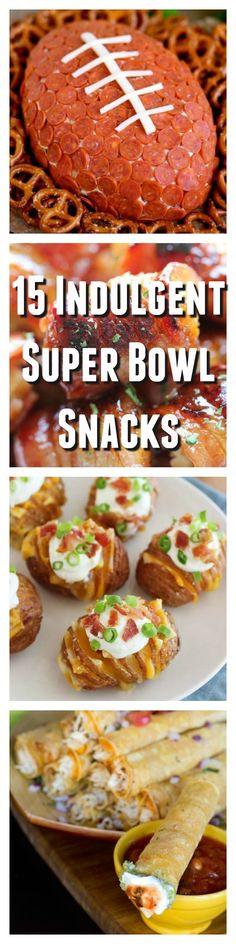 These super bowl party snacks and appetizers will have your guests cheering for more.