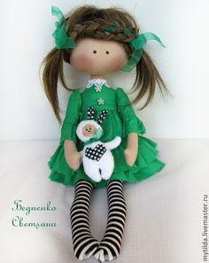 Купить Green Girl - зеленый, подарок на день рождения, подарок подруге, подарок девочке, девочке