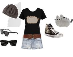 """""""PUSHEEN"""" by gabriella-rose-butler on Polyvore"""