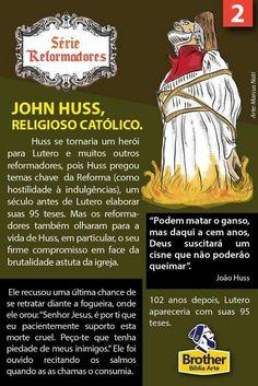 John Huss Bible Art, Bible Verses, 1 Samuel 17, Protestant Reformation, Reformed Theology, Jesus Freak, Christianity, Catholic, Religion