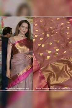 Details From our exclusive collection, we are offering you the Chanderi saree, which is a look...