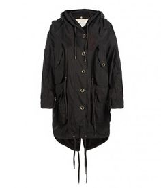 all-season parka from all saints - with zip out lining.