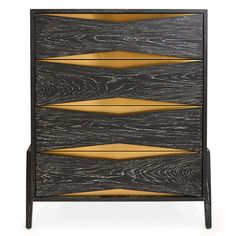 "Jonathan Adler Black Wooden Chest with Brass Accents ""Berlin"" on AHAlife Black Furniture, Wooden Furniture, New Furniture, Luxury Furniture, Furniture Design, Building Furniture, Steel Furniture, Antique Furniture, Bedroom Furniture"