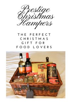 Looking for that perfect Christmas present?  Why not give them a Prestige Christmas Hamper?