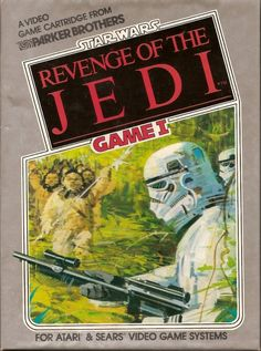 Star Wars: Revenge of the Jedi concept art for Atari 2600.
