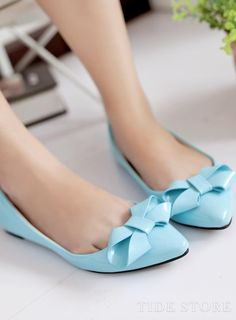 Shop Adorable Candy Color Bow Knot Flats on sale at Tidestore with trendy design and good price. Come and find more fashion Flats here. Fashion Flats, Women's Fashion, Boots Online, Candy Colors, Pumps, Heels, Knots, Ankle Boots, Shopping