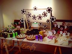 Mesa de dulces - Sweet Table - Candy Bar Futbol