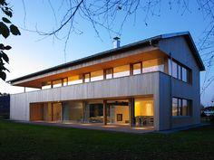 Warren House, Mediterranean Architecture, Village Houses, Village House Design, Container House Design, Modern Barn, Modern House Design, Luxury Homes, Building A House