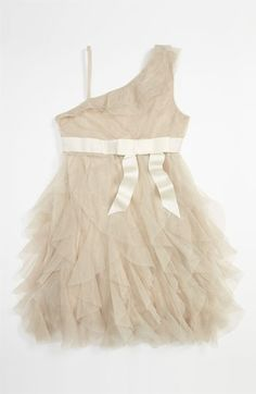 my junior bridemaid would look adorable in this Jessica McClintock 'Sophie' Dress (Big Girls) available at Nordstrom  #Nordstromweddings