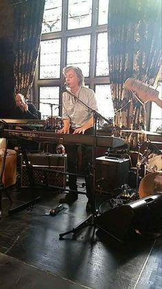 Paul McCartney at Philarmonic Pub in Liverpool on June 9 2018