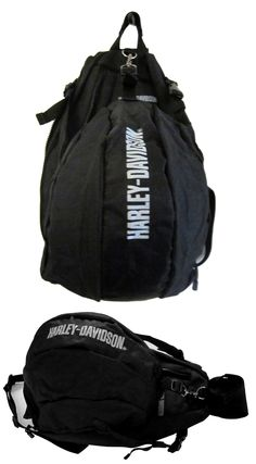 'Backpack with Helmet Holder' exclusively manufactured for Harley-Davidson India.