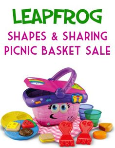 LeapFrog Shapes And Sharing Picnic Basket Sale: $13.15!