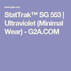 StatTrak™ SG 553 | Ultraviolet (Minimal Wear) - G2A.COM