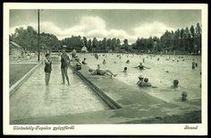Görömböly-Tapolca gyógyfürdő. Miskolc mellett. Strand | Képeslapok | Hungaricana