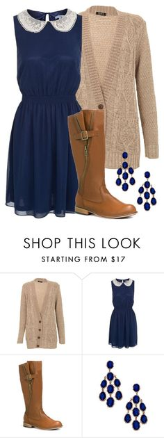 Teacher Outfits on a Teacher's Budget by allij28 on Polyvore featuring JustFab and Blu Bijoux